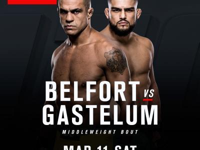 Vitor Belfort vs Kelvin Gastelum bout announcement