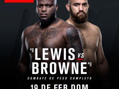 Derrick Lewis vs Travis Browne