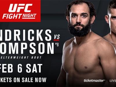 Johny Hendricks vs. Stephen Thompson UFC Fight Night Las Vegas 2016