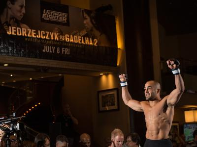 Collection: UFC LAS VEGAS, NV - JULY 5: Eddie Alvarez holds an open training session for fans and media at at MGM Grand Hotel & Casino on July 5, 2016 in Las Vegas, Nevada. (Photo by Brandon Magnus/Zuffa LLC/Zuffa LLC via Getty Images)
