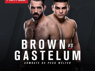 UFC Monterrey bout announcement Matt Brown vs Kelvin Gastelum - spanish