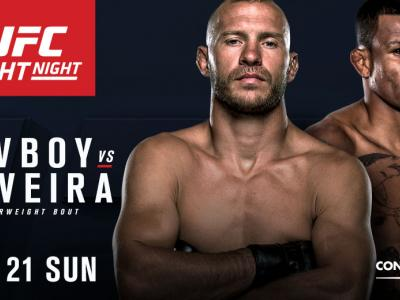 UFC Fight Night: Cowboy vs Oliveira is coming to Consol Energy Center on Feb. 21 2016