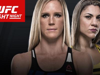UFC Fight Night: Holm vs Correia Singapore