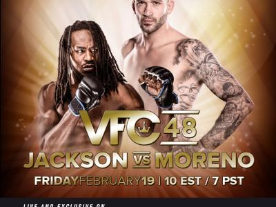 Victory FC 48 event poster