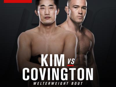 UFC Fight Night: Singapore June 17 2017 Dong Hyun Kim vs. Colby Covington