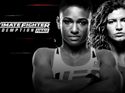 The Ultimate Fighter: Redemption finale July 7 2017 Angela Hill vs Ashley Yoder