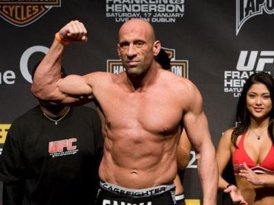 UFC 93 Weigh-In Mark Coleman