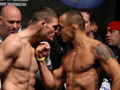 UFC 105 Weigh-In Michael Bisping & Denis Kang