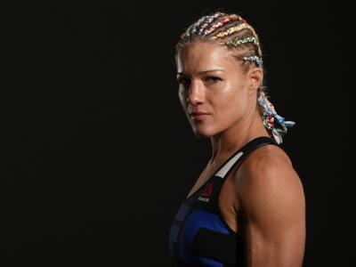 CHICAGO, IL - JULY 23:  Felice Herrig poses for a post fight portrait during the UFC Fight Night event at the United Center on July 23, 2016 in Chicago, Illinois. (Photo by Mike Roach/Zuffa LLC/Zuffa LLC via Getty Images)