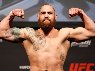 ORLANDO, FL - APRIL 18:  Travis Browne weighs in during the FOX UFC Saturday weigh-in at the Amway Center on April 18, 2014 in Orlando, Florida. (Photo by Josh Hedges/Zuffa LLC/Zuffa LLC via Getty Images)